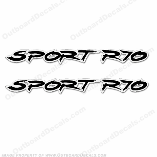 Ranger Sport R70 Decals (Set of 2)