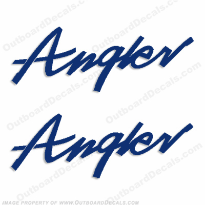 Angler (Lund) Decals (Set of 2) - Any Color!