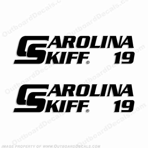 Carolina Skiff 19 Boat Decals