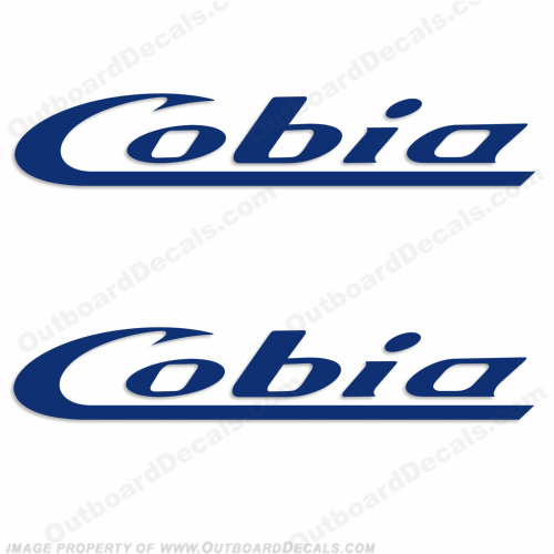 Cobia Boats Decal (Style 2) - Any Color!