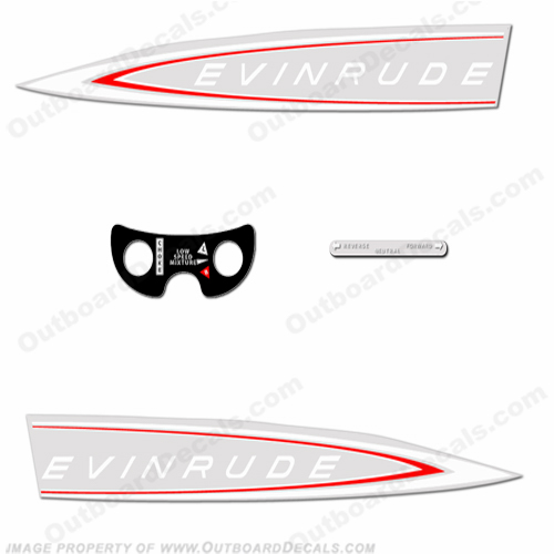 Vintage Evinrude OutboardDecalscom S Of Decals In Stock - Decals for boat motorsoutboarddecalscom s of decals in stock