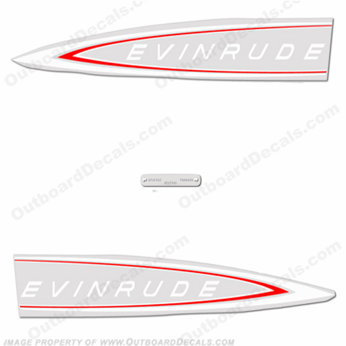 Evinrude 1964 40hp Outboard Engine Decals