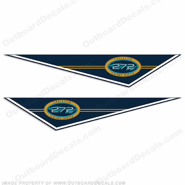 Grady White Sailfish 272 Pendant Decals