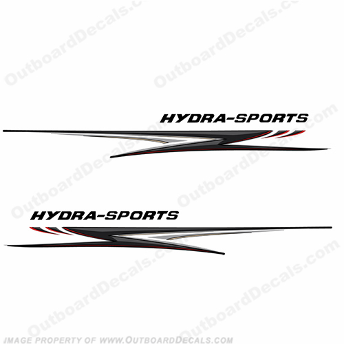"Hydra-Sports Giant 118"" Long Graphics - Silver/Black"