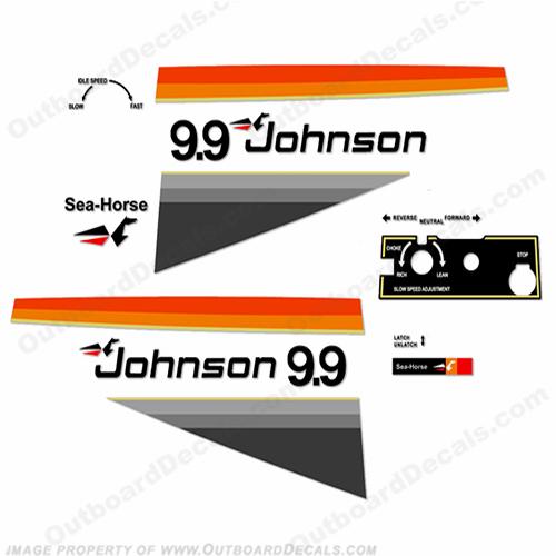 Johnson 1977 Decals