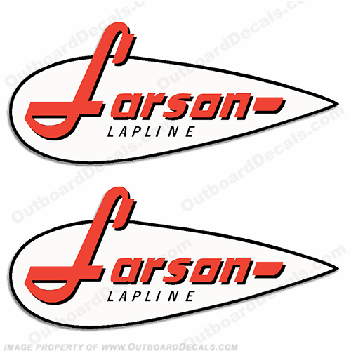 Larson Boats Decal - 1960&#39s