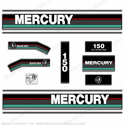 Mercury Engines OutboardDecalscom S Of Decals In Stock - Decals for boat motorsoutboarddecalscom s of decals in stock