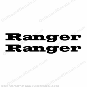 Ranger Boats Decal - Any Color!