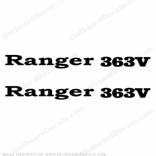 Ranger 363V Decals (Set of 2) - Any Color!