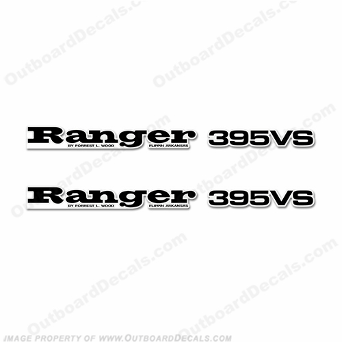 Ranger 395VS Decals (Set of 2) - Any Color!
