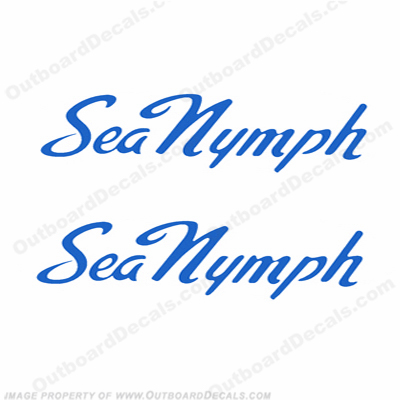 Sea Nymph Boat Decals - Any Color!