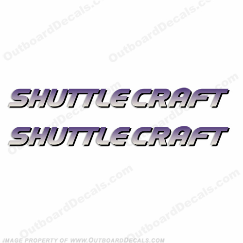 Shuttle Craft Decals (Set of 2)