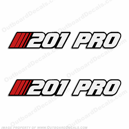 Stratos 201-PRO Decal - Older Style