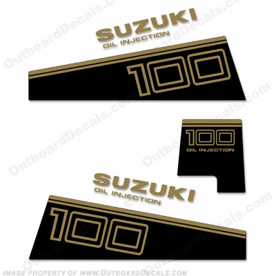 Suzuki DT 100 Decal Kit