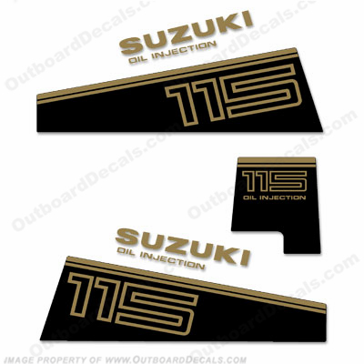Suzuki DT 115 Decal Kit