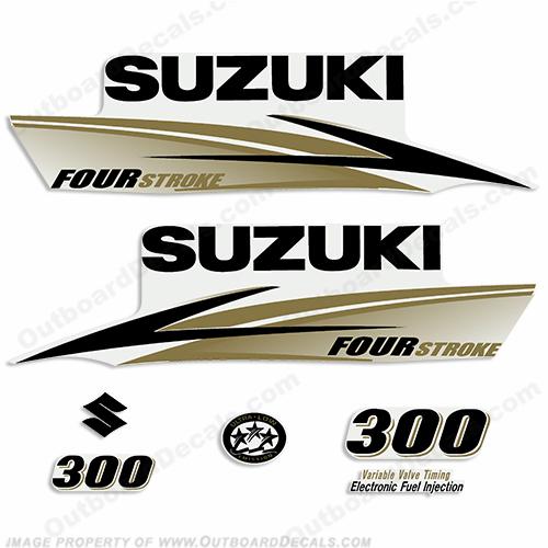Custom color suzuki decals
