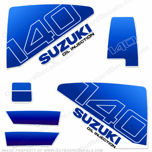 Suzuki 1985 DT140 Decal Kit
