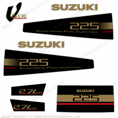 Suzuki DT 225 Decal Kit