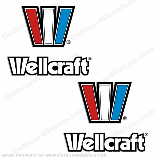 Wellcraft Boats Decal - Set of 2
