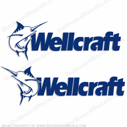 Wellcraft Decal (Set of 2) - Any Color