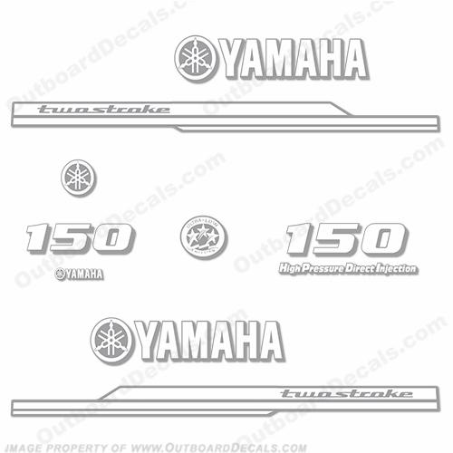 Yamaha 150hp Hpdi Decal Kit Any Color 2008 2010