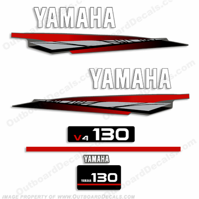 Yamaha 130hp 2-Stroke Decal Kit