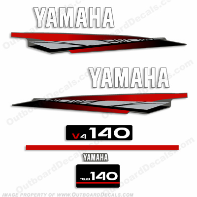 Yamaha 140hp 2-Stroke Decal Kit