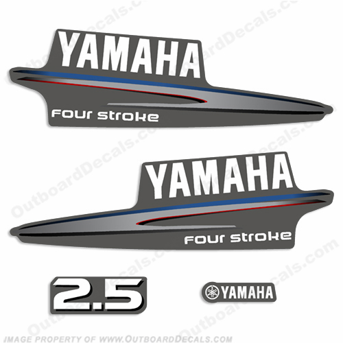 Yamaha fourstroke decals for Yamaha boat decals graphics
