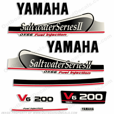 marine decals for your yamaha outboard engine
