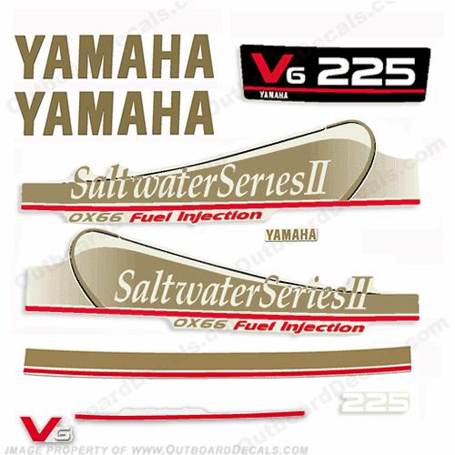 Yamaha 225hp saltwater series ii ox66 fuel injection for Yamaha saltwater series ii