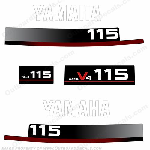 Yamaha 1994 115hp Decals
