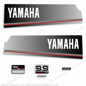 Yamaha 1985 9.9hp Decal Kit