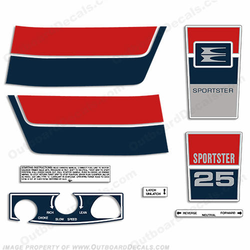 Evinrude Decals, Page 2