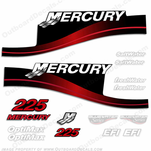 Mercury 225hp Decal Kit - 1999-2004 (Red) All Models Available 225 decals, mercury 225 hp, mercury saltwater, mercury saltwater decals, mercury freshwater decals, mercury efi decals, mercury optimax decals, mercury xr6 decals, mercury offshore edition decals, mercury efi saltwater decals, mercury optimax saltwater decals, mercury efi freshwater decals, mercury efi saltwater decals, mercury saltwater, mercury freshwater, mercury efi, mercury optimax, mercury xr6, mercury offshore edition, mercury efi saltwater, mercury optimax saltwater, mercury efi freshwater, mercury efi saltwater, merc decals, merc 225, merc 225 decals, optimax saltwater, efi saltwater, offshore edition, xr6, efi freshwater, mercury 225 optimax saltwater, mercury 225 optimax saltwater decals