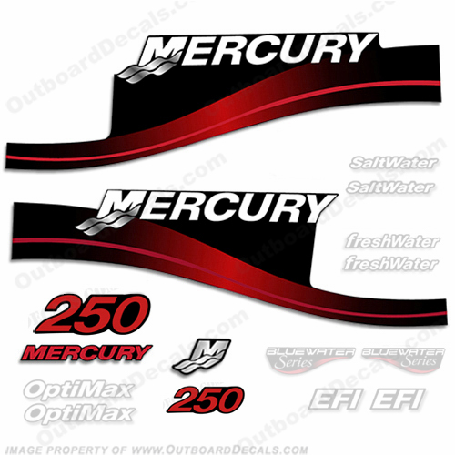 Mercury 250hp Decal Kit - 1999-2004 All Models Available (Red) 250 decals, mercury 250 hp, mercury saltwater, mercury saltwater decals, mercury freshwater decals, mercury efi decals, mercury optimax decals, mercury xr6 decals, mercury offshore edition decals, mercury efi saltwater decals, mercury optimax saltwater decals, mercury efi freshwater decals, mercury efi saltwater decals, mercury saltwater, mercury freshwater, mercury efi, mercury optimax, mercury xr6, mercury offshore edition, mercury efi saltwater, mercury optimax saltwater, mercury efi freshwater, mercury efi saltwater, merc decals, merc 250, merc 250 decals, optimax saltwater, efi saltwater, offshore edition, xr6, efi freshwater, mercury 250 optimax saltwater, mercury 250 optimax saltwater decals