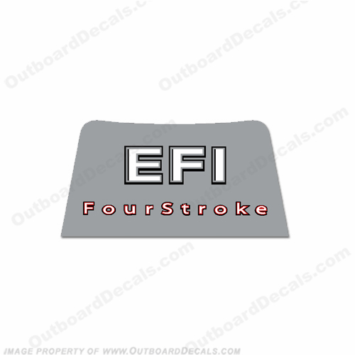 Mercury 2006-2012 15/20/25/30hp EFI 4-Stroke Rear Decal