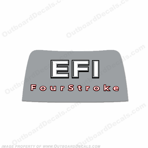 Mercury 2006-2012 40/50/60hp EFI 4-Stroke Rear Decal