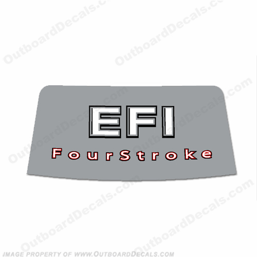 Mercury 2006-2012 90/115hp EFI 4-Stroke Rear Decal
