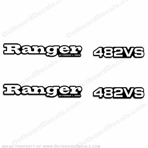 Ranger 482VS Decals (Set of 2) - Any Color!
