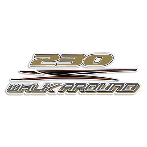 HydraSports 230 Walk Around Decal