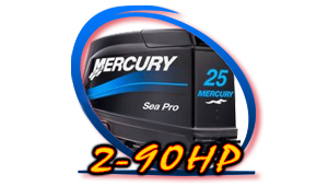 Mercury 2hp - 90hp Models