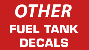 Other Fuel Decals