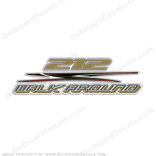HydraSports 212 Walk Around Decal