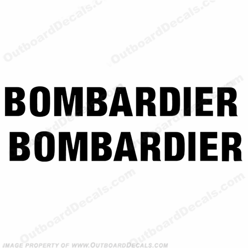 Sea-Doo Bombardier Decals - Set of 2