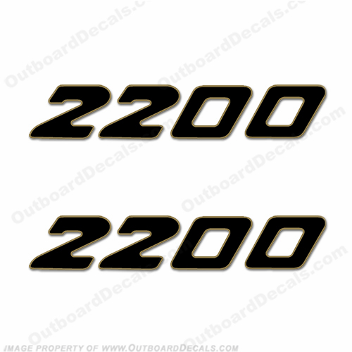 Century Boats 2200 Logo Decals (Set of 2)