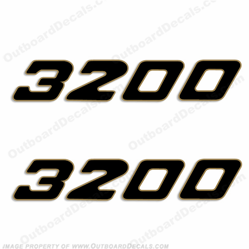 Century Boats 3200 Logo Decals (Set of 2)