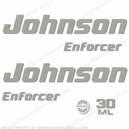 Johnson/Evinrude Enforcer 30ML Decals