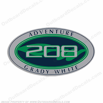 Grady White Adventure 208 Logo Decals (Set of 2)