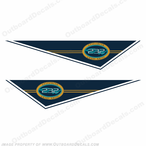 Grady White Gulfstream 232 Pendant Decals