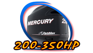 Mercury 200hp - 350hp Models